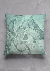 Urban Cowboy Throw Pillow: beautifully crafted