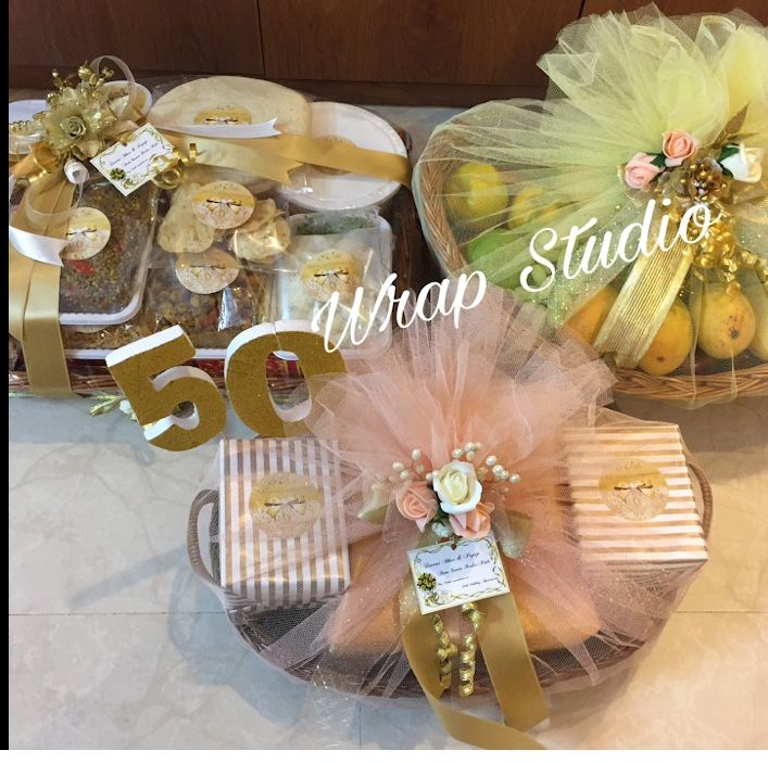 Pin By Kausar Shahnawaz On Gift Packing Ideas Wedding Gifts Packaging Wedding Gift Baskets Wedding Gift Wrapping