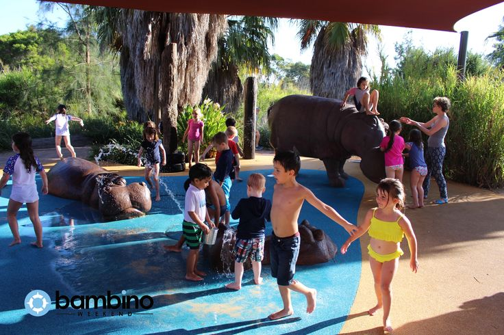 Hippo Splash Park, Werribee Zoo