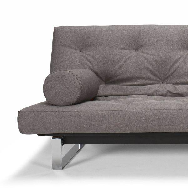 Divano letto matrimoniale design nordico 140x200 cm Fraction ...