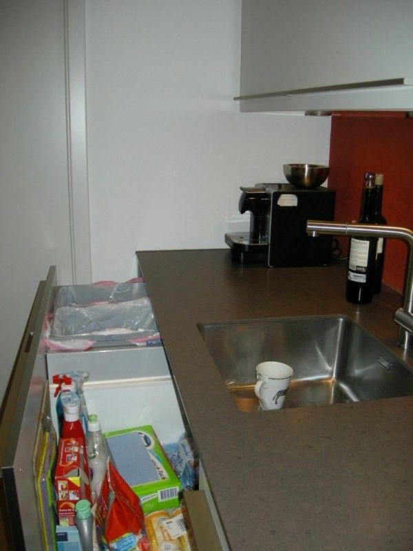 Halboffene Küche mit Speisekammer - Fertiggestellte Küchen - SieMatic SC21