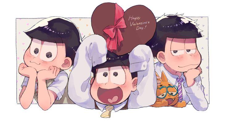 おそ松さん Osomatsu-san バレンタイン 弟松
