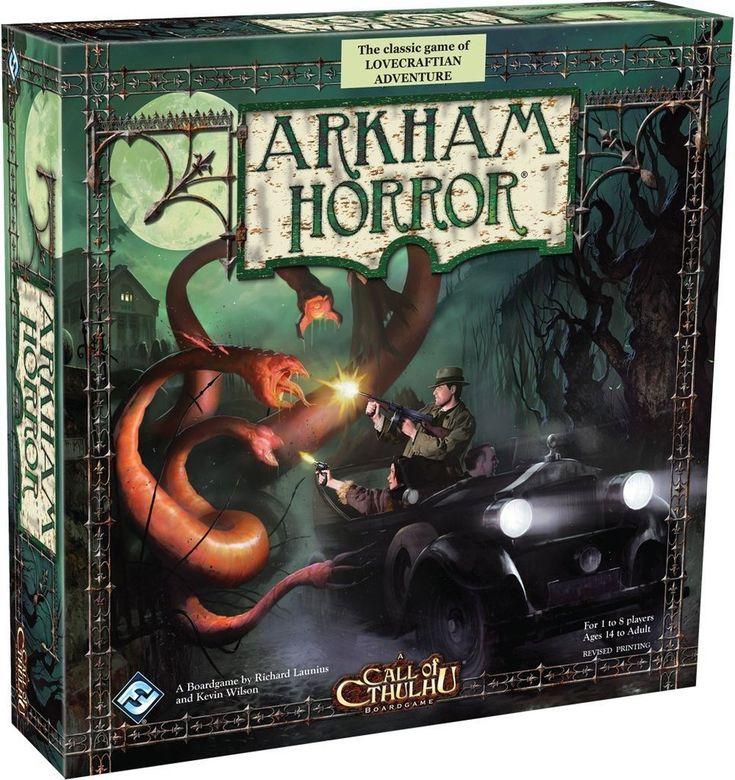 Arkham Horror   $82AU #boardgame #arkhamhorror #horror #cthulhu #game
