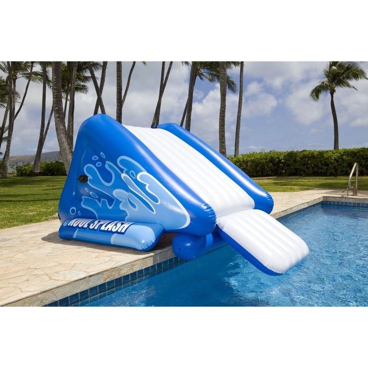25 best ideas about swimming pool slides on pinterest - How to make a swimming pool slide ...