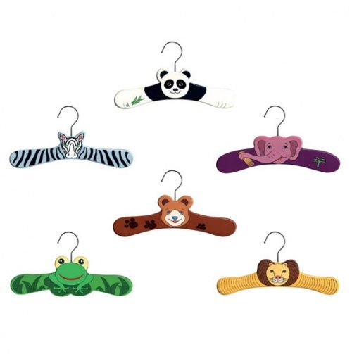 Wooden Animal HangersHangers Sets, Wooden Animal, Children Hangers, Animal Hangers, Animal Infants, Wild Animals, Infants Hangers, Coats Hangers, Kidorable Wild
