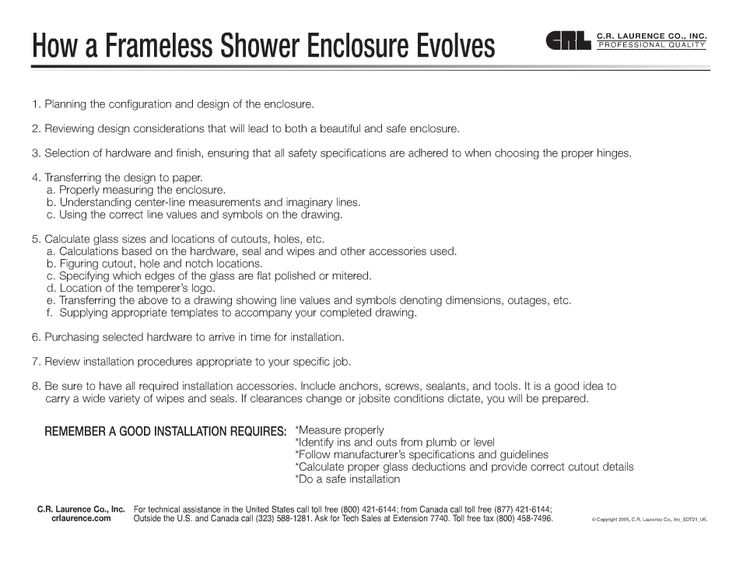 Frameless Glass Showers by Airdrie Windshield & Glass