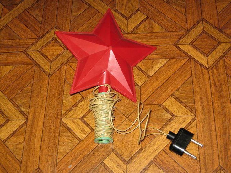Звезда на макушку елки