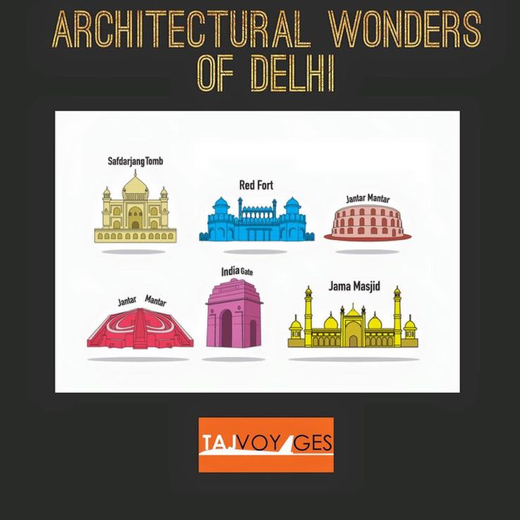 #IncredibleIndia #TajVoyages Being one of the most historic capitals in the world, Delhi has around 13 architectural wonders. There are attractions like mosques and monuments that represent India's majestic  history.  www.tajvoyages.com.au