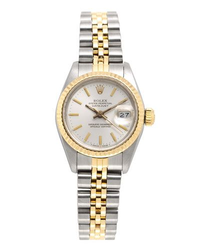 Rolex Women's 'Datejust' Watch - my dream watch - would add a diamond bezel as well for a little more sparkle. Sighhh
