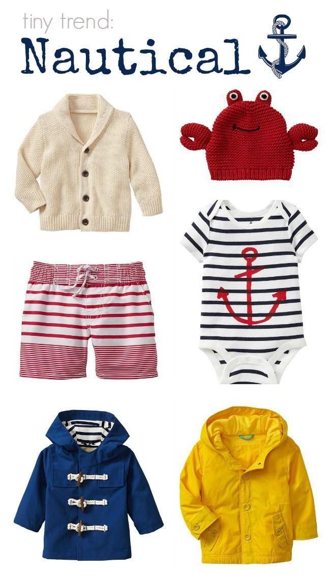 Nautical Trend babyGap Spring 2014
