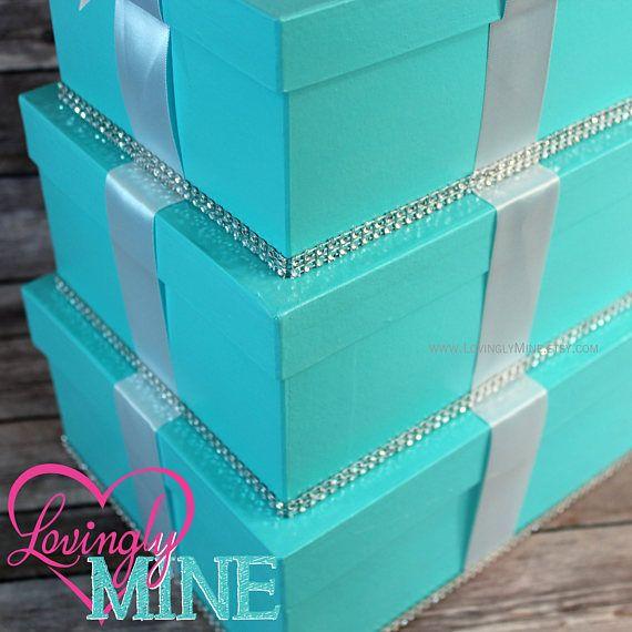 Tarjeta titular 3 nivel caja Caja de dinero de regalo para