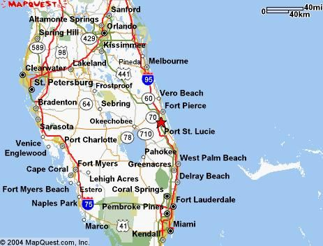 Distance From St Augustine Fl To Cocoa Beach Fl