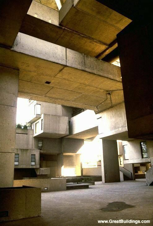 Great Buildings Image - Habitat '67