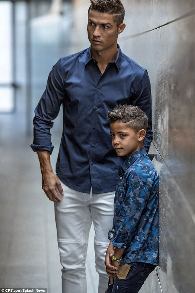 Image result for hello magazine cristiano ronaldo and son 2017 images 2d512d05ac2d2