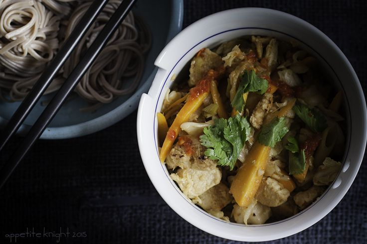 Stir-fried Kimchi with Quorn & King Soba Noodles