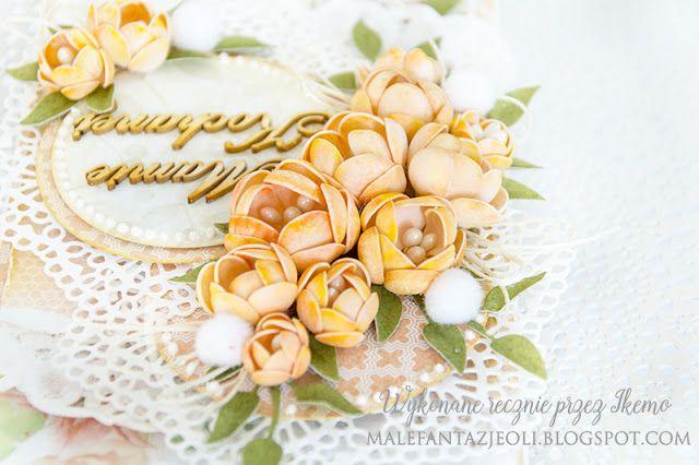 Blog Craft Passion: Kurs wideo na piankowe kwiaty / Video tutorial for round foam flowers