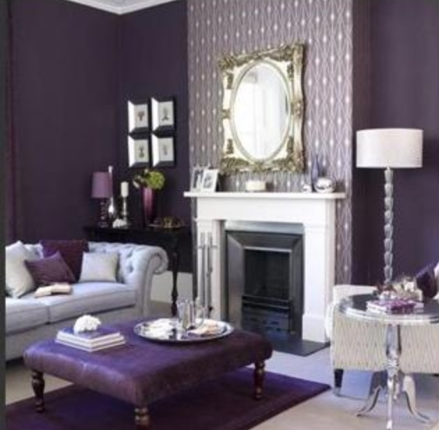 Beautiful Purple Living Room Ideas Pictures - Home Design Ideas ...