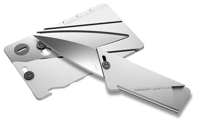 The new all-metal Cardsharp4 in natural