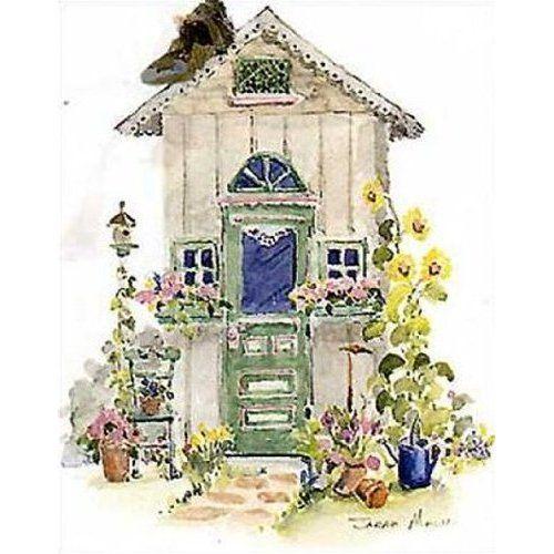 Garden Shed III By Sarah Malin 5x7 Kitchen