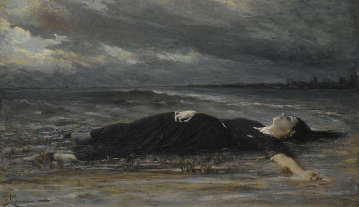 "silenceformysoul: ""Constantin Émile Meunier - Ophelie """