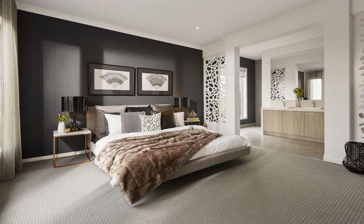 Granvue Homes Premium Series - Melanite master bedroom