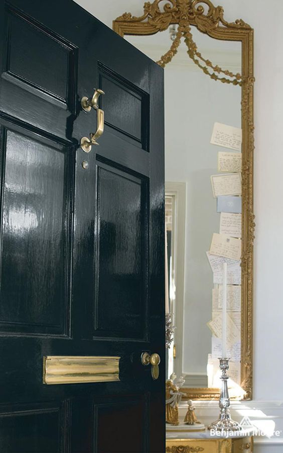 Benjamin Moore 10 Downing Street in Aura Grand Entrance