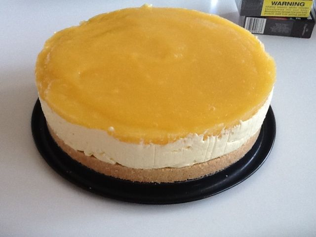 Mango cheesecake! I am in love! #thermomix