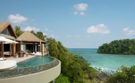 Ocean view villa for sale at Song Saa Private Island Resort, Cambodia.
