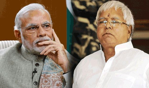 Lalu Prasad Yadav, the Rashtriya Janata Dal chief on Friday has posted a series of tweets on the Centre's demonetisation comparing the PM Narendra Modi to Uncle Podger