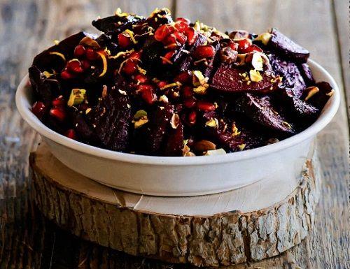 Салат из свёклы с гранатом — Кулинарная книга - рецепты, фото, отзывы