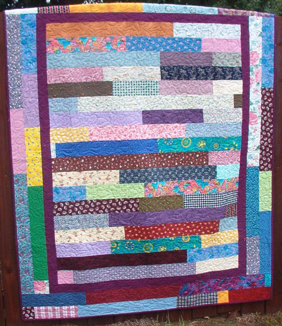 Scrap Quilt Patterns For Beginners : 145 best images about JELLY ROLL QUILTS AND TUTES on Pinterest Fat quarters, Jelly roll ...