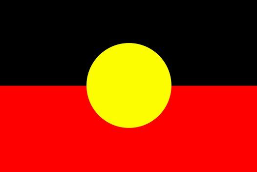 Aboriginal Flag. Our Indigenous land owners.