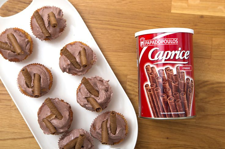 "Banoffee Cupcakes με ""Caprice"" ΠΑΠΑΔΟΠΟΥΛΟΥ"