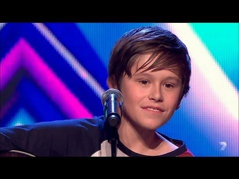 Jai Waetford's Audition on Australia's X Factor on the Seven Network