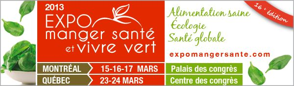 Ask Mama MOE: Eating Well and Living Green Expo in Montreal