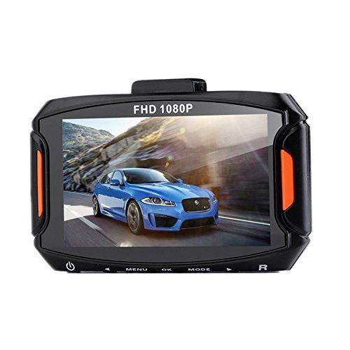 crewpros (TM) D9Caméra de voiture DVR enregistreur Processeur novatek Caméra vidéo Full HD 1080p voiture DVR 3'objectif grand angle 140…