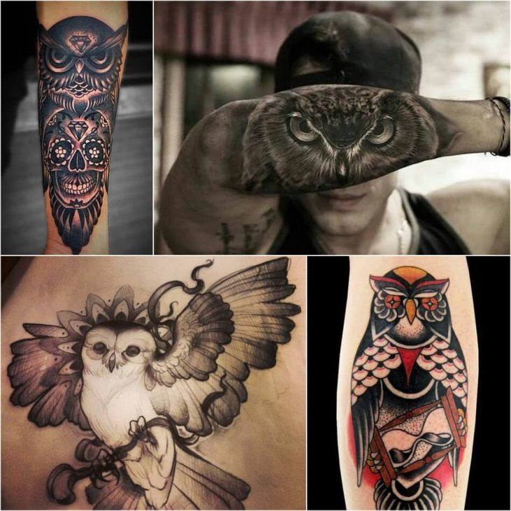 Owl Tattoo Ideas With Meanings Truly Amazing Owl Tattoos Owl Tattoo Meaning Owl Tattoo Barn Owl Tattoo