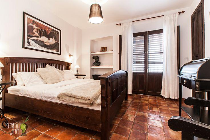 El secreto del Olivo at Nigüelas, Granada (Andalucía, Spain) #Boutiquehotel #homelyatmosphere #charmyinterior #enormousbed #comfort #combination #tradition #modernity #elegance #style
