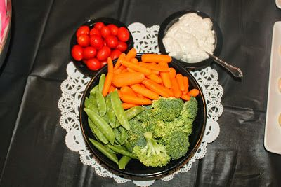 Minnie Mouse Veggie Tray 2nd Birthday Pinterest