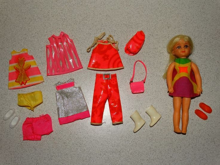 Barbie:  VINTAGE Complete SEARS CHRIS FUNTIMERS Giftset w/BLONDE CHRIS Doll!