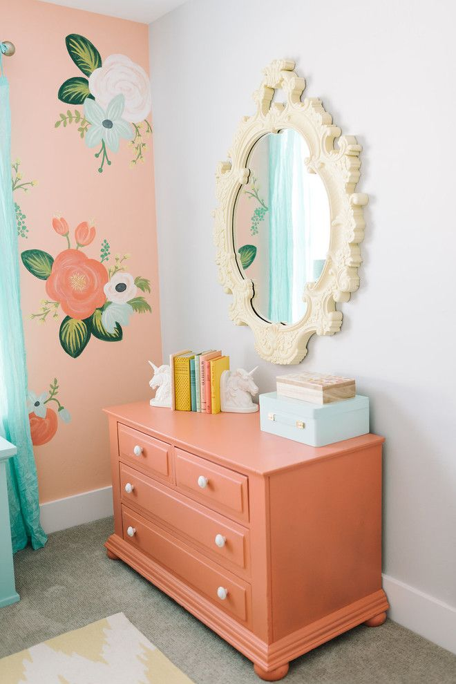 Amazing Design Loves Detail (House Of Turquoise). Painted Nursery FurnitureFloral  ...