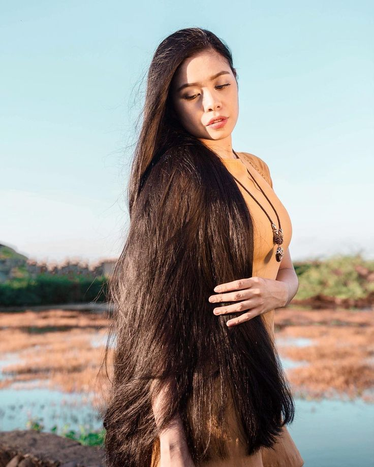 how to cut your own long hair youtube