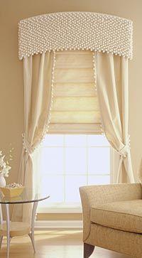 doble cortina, una sobre otra