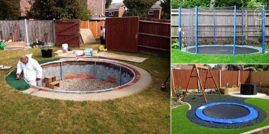 How To Make A Sunken Trampoline | The WHOot