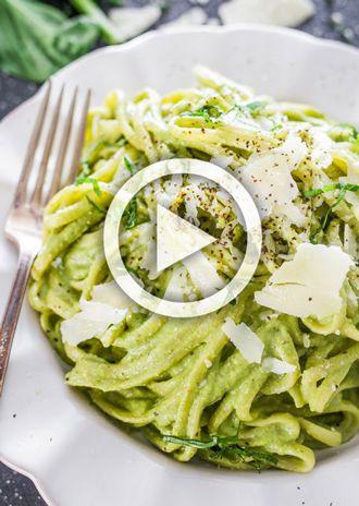 Recept: Spaghetti avocadosaus