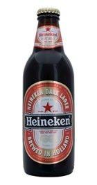 Cerveja Heineken Dark Lager, estilo Dark American Lager, produzida por Heineken Nederland, Holanda. 5% ABV de álcool.