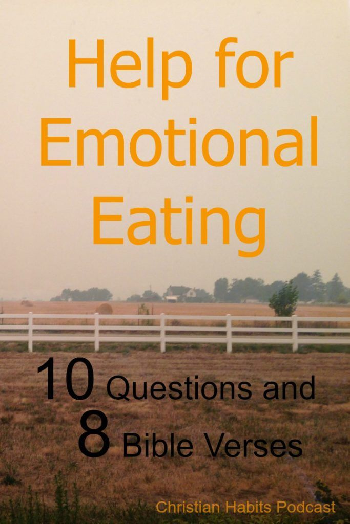 Do you struggle with emotional eating? On this episode of the Christian Habits we'll be renewing our mind with the emotional eating questions, Bible verses, and tips from I Deserve a Donut (And Other Lies That Make You Eat).