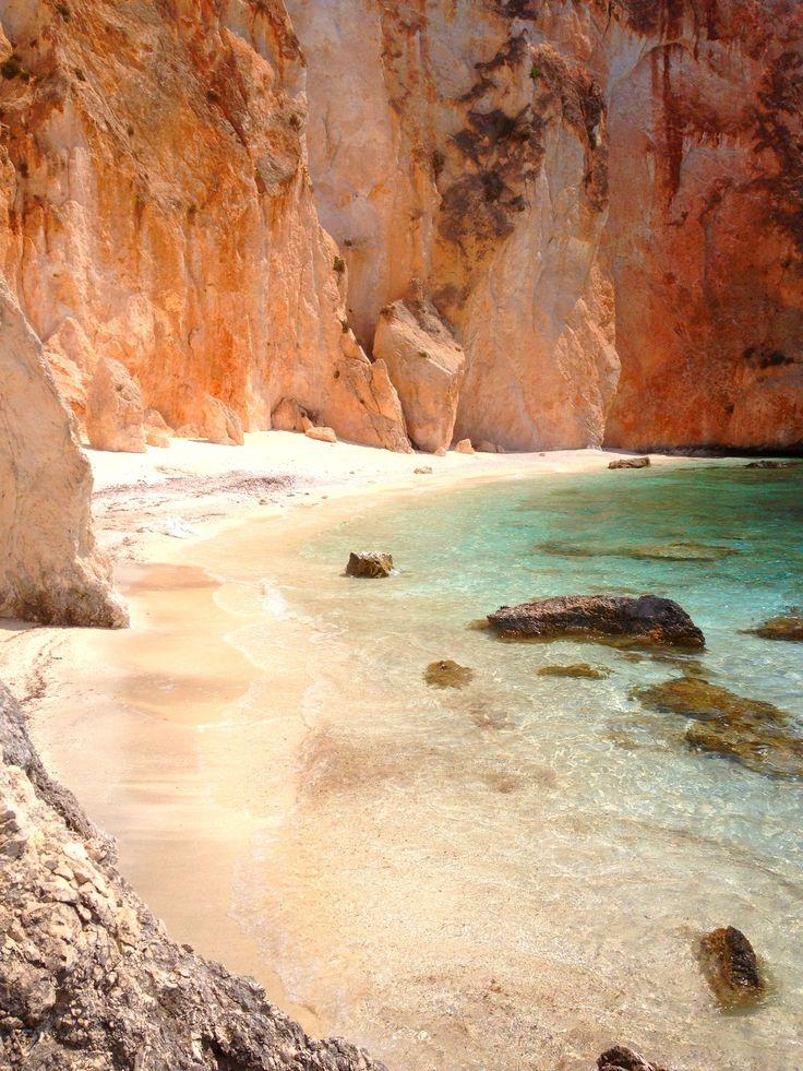 White Rocks beach , Kefalonia , Greece , photo by Thalia P.