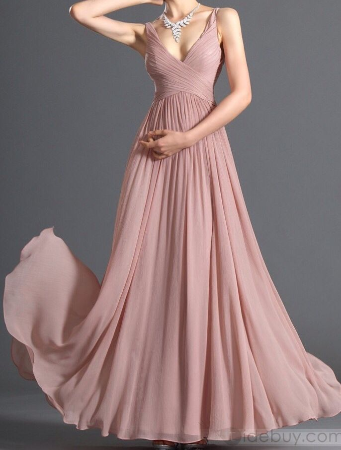 Bridesmaid dress old-rose