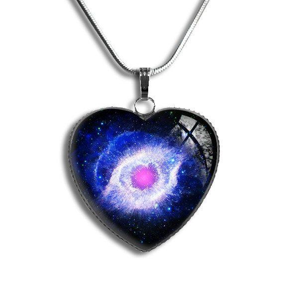 Helix Nebula Pendant Helix Nebula NecklaceGalaxy by froshjewels
